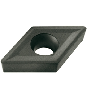 10242 PLAQUITA INTERCAMBIABLE TORNEADO CCMT 80º POSITIVA - 8500 - CCMT-060204-E-